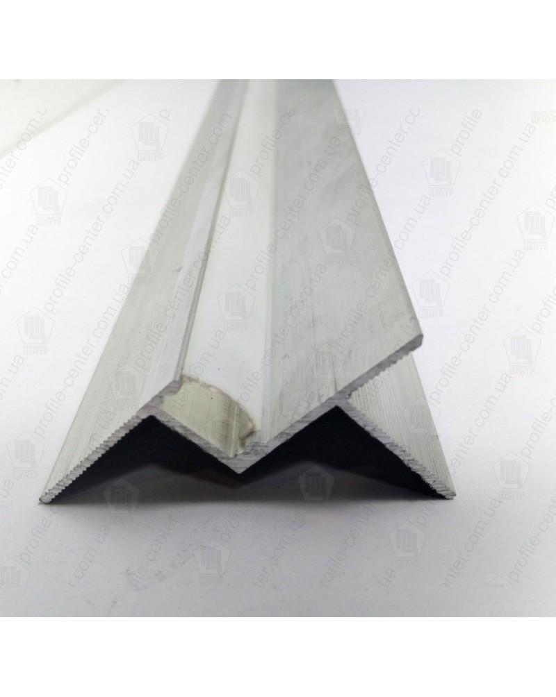 Алюмінієвий профіль для тіньового шва 15 мм LED - АПТШ 15 LED