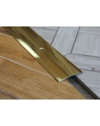 Л 003. Латунный порожек стыковочный, 30 мм. Длина 0.9 м