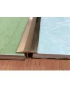 ЛТ 18. Латунний Т-подібний профіль для плитки. Довжина 2.5 м