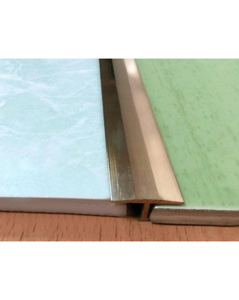 ЛТ 26. Латунный Т-образный профиль для плитки. Длина 2.5 м