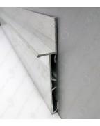 Алюмінієвий плінтус прихованого монтажу BEST DEAL 2/83 анод «Срібло»