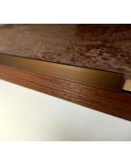 Алюмінієвий Г-профіль для плитки до 8мм. АП 10 анод «бронза» 2.7м