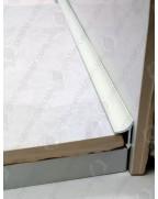 Алюминиевый универсальный внутренний угол для плитки. АВП цвет «Белый» 2.7м