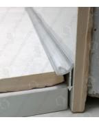 Алюмінієвий універсальний внутрішній кут для плитки. АВП полірований 2.7м