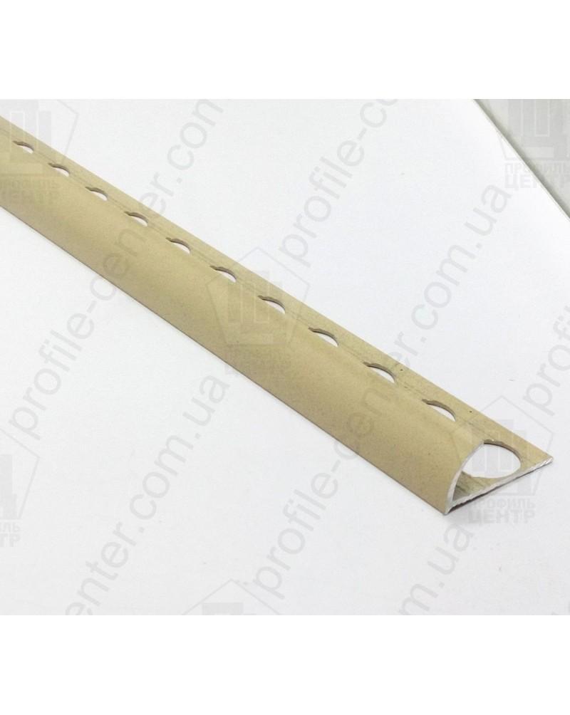Наружный алюминиевый угол для плитки до 10мм. Крашенный. НАП 10 песок 2.7