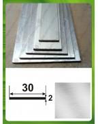 30*2. Алюминиевая полоса, без покрытия