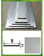 8*2. Алюмінієва смуга, анод «срібло»