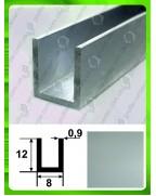 12*8*12*0,9. Алюмінієвий швелер, анод «срібло» 3,0 м.