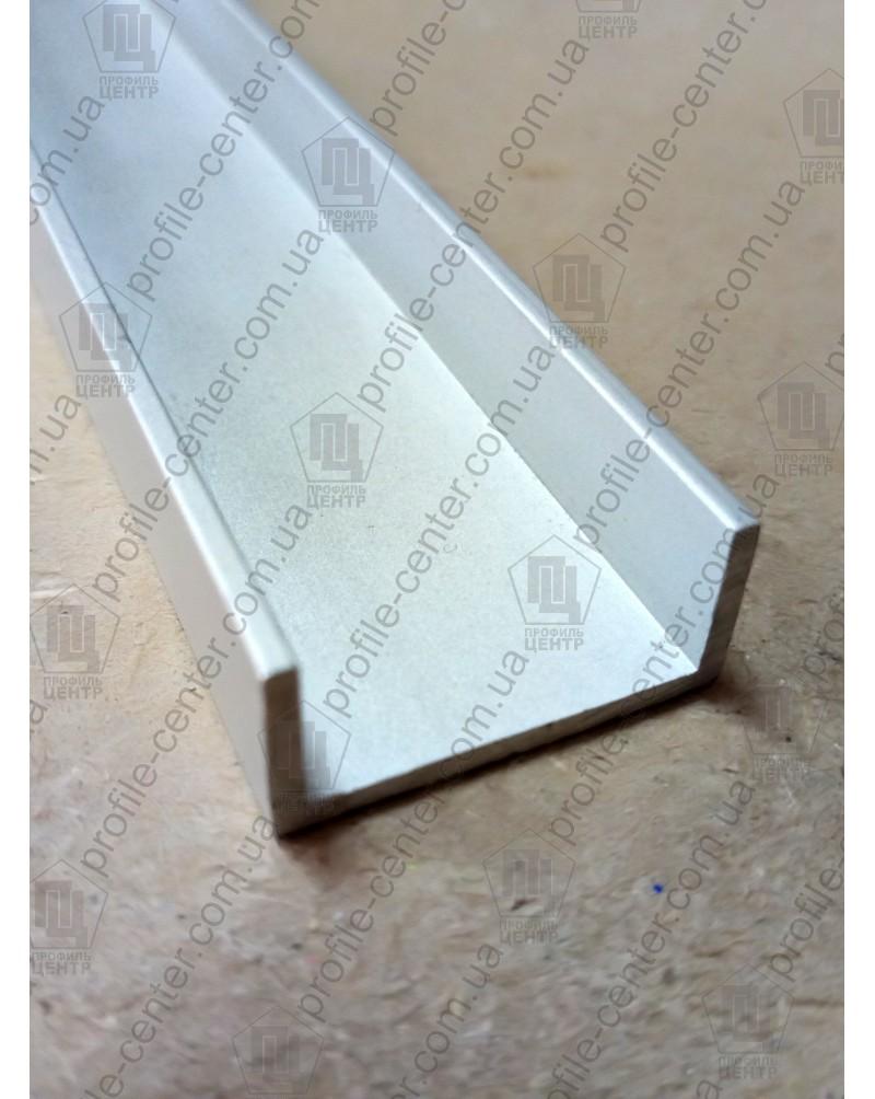 10*21.4*10*1.2. Алюминиевый швеллер, без покрытия