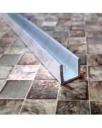 20*20*20*1.5. Алюминиевый швеллер, анод «Серебро»