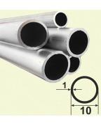 10*1. Алюмінієва кругла труба, без покриття 3,0 м.