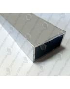 20*10*1,5. Алюмінієва прямокутна труба, без покриття 3,0 м.