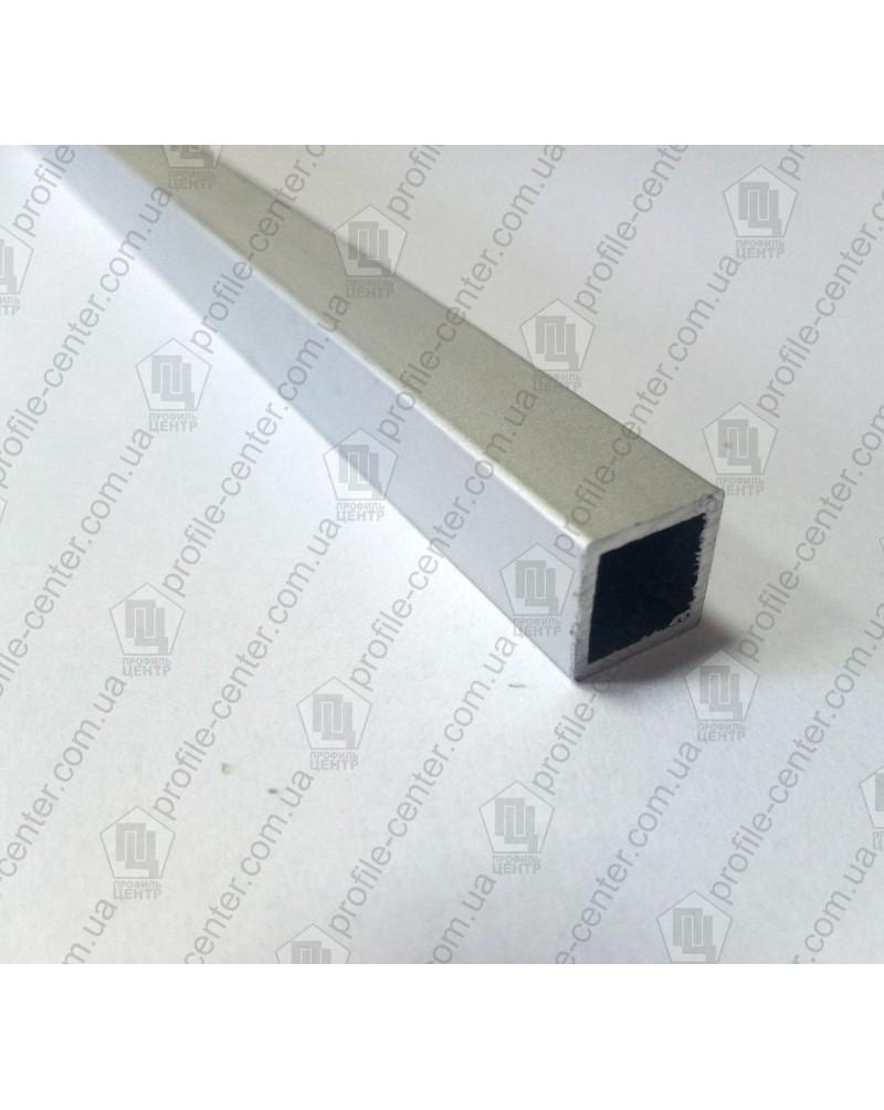 20*20*1.5. Алюминиевая квадратная труба, без покрытия