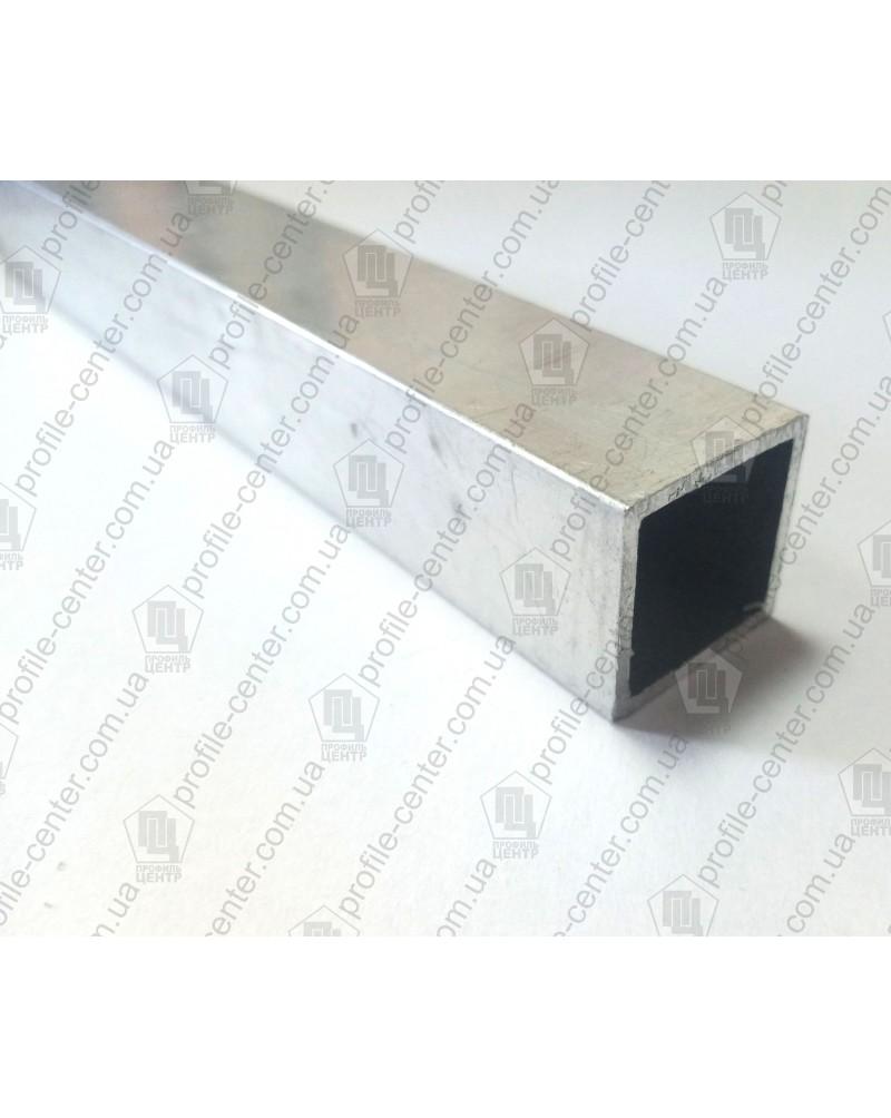 20*20*1.5. Алюминиевая квадратная труба, анод «Серебро»