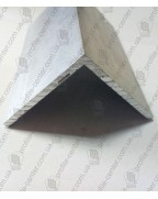 15*15*1.5. Алюмінієвий куточок рівносторонній, без покриття