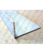50*30*2. Алюмінієвий куточок різнобічний, анод «срібло»