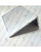 10*20*1. Алюминиевый уголок разносторонний, без покрытия