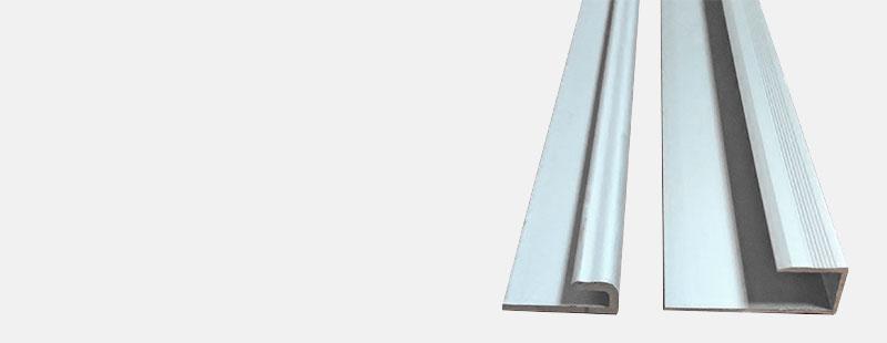 Алюминиевый L-образный профиль