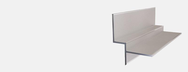 Алюминиевый профиль теневого шва