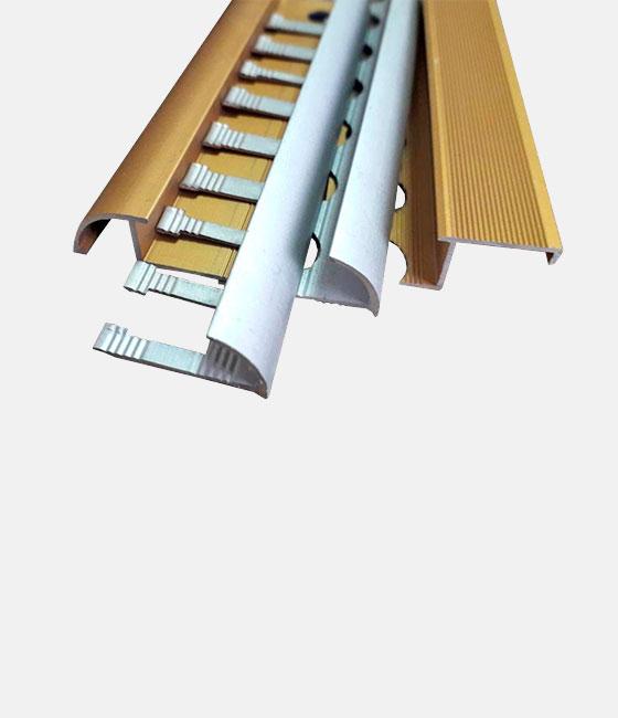 Алюминиевый профиль для плитки