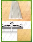 Алюмінієвий поріг під дерево АП 005 бук 1.8м, ширина 28 мм