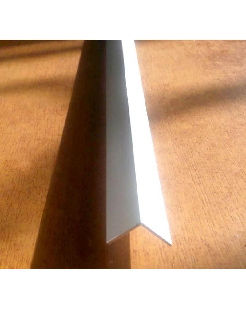 10*10*1. Алюминиевый уголок равносторонний, крашенный «Белый»