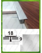 Алюмінієвий Т-образний поріг АТ 18 без покриття 2.7м