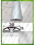 Алюминиевый порожек АП 016 без покрытия. Длина 2.7 м