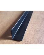 20*20*1.Алюминиевый уголок равносторонний, крашенный «Черный»