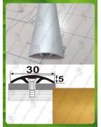 Алюминиевый порожек стыковочный АП 016 золото 1.8м, ширина 30 мм