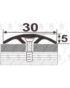 Алюминиевый порожек под дерево АП 016 бук 2.7м, ширина 30 мм