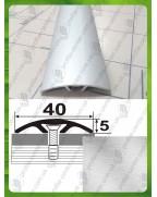 Алюмінієвий поріг АП 013 без покриття. Довжина 2.7 м