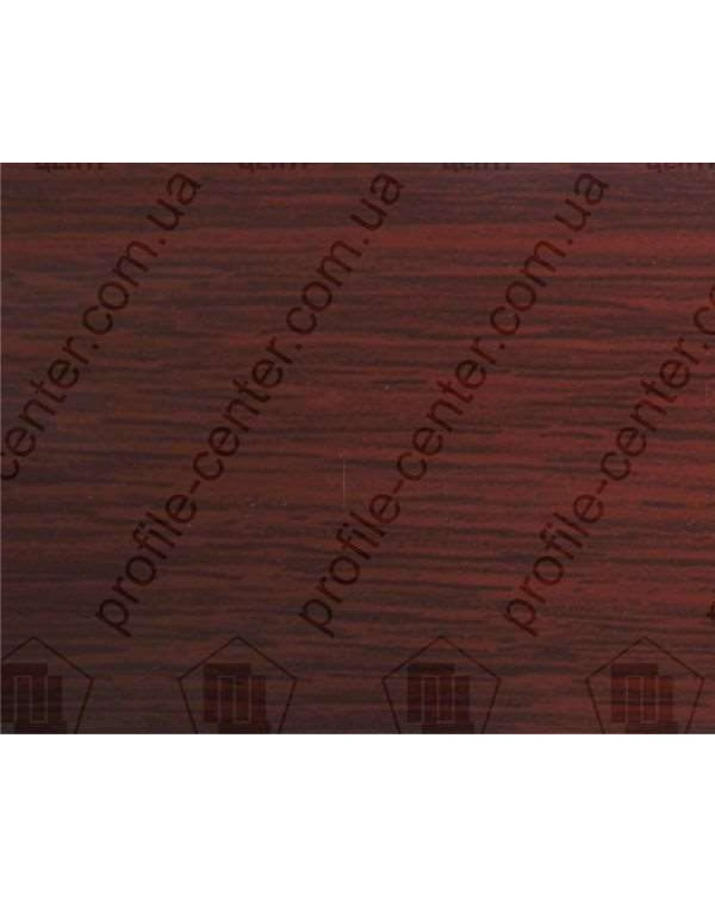 Алюминиевый порожек под дерево АП 016 махагон 1.8м, ширина 30 мм